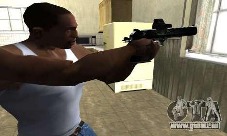 Blue Deagle für GTA San Andreas zweiten Screenshot