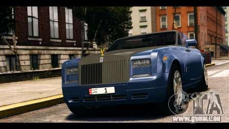 Rolls-Royce Phantom 2013 Coupe v1.0 pour GTA 4