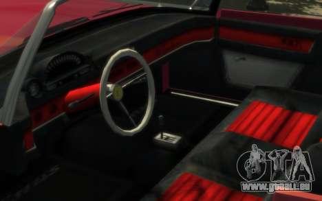 Enus Windsor Classic pour GTA 4 Vue arrière