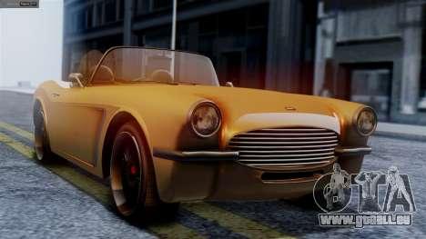 GTA 5 Invetero Coquette BlackFin pour GTA San Andreas