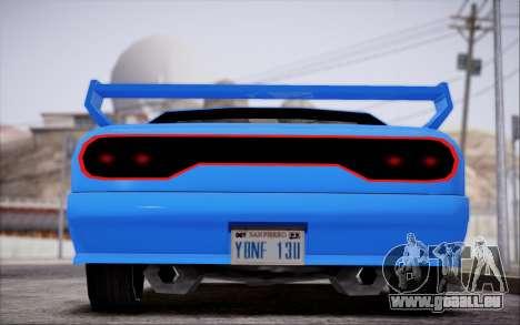 Elegy GT für GTA San Andreas zurück linke Ansicht