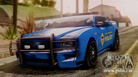 Hunter Citizen from Burnout Paradise SAPD für GTA San Andreas