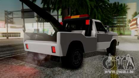 Towtruck New Edition für GTA San Andreas linke Ansicht