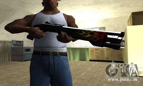 Flame Shotgun für GTA San Andreas