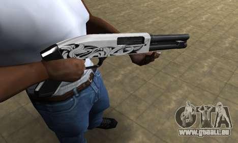 Mini White Shotgun pour GTA San Andreas