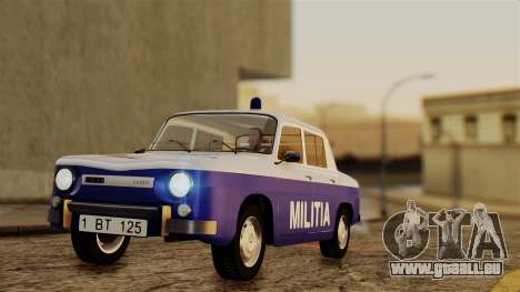 Dacia 1100 Militia pour GTA San Andreas