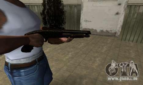 Leopard Shotgun pour GTA San Andreas deuxième écran