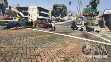 GTA 5 Police Chase Random Event vierten Screenshot
