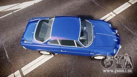 Renault Alpine A110 1973 pour GTA 4 est un droit
