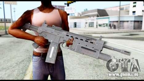 M4 from Resident Evil 6 pour GTA San Andreas troisième écran