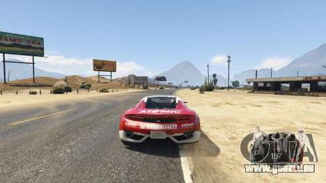 GTA 5 NFS gauge - RPM Gear Speedometer 1.0.1 vierten Screenshot