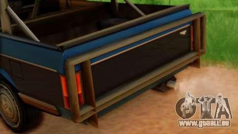 Regina Zombie Apocalypse für GTA San Andreas rechten Ansicht