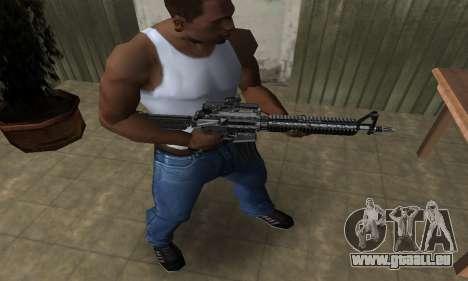 Full Black M4 für GTA San Andreas zweiten Screenshot
