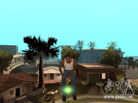 Balai pour GTA San Andreas deuxième écran