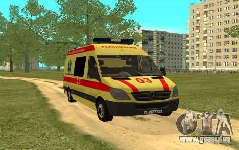 Mercedes-Benz Sprinter Reanimation für GTA San Andreas