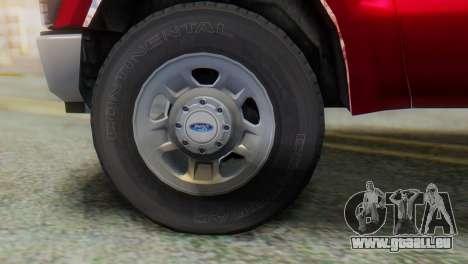 Ford F-350 Super Duty Regular Cab 2008 IVF АПП für GTA San Andreas rechten Ansicht