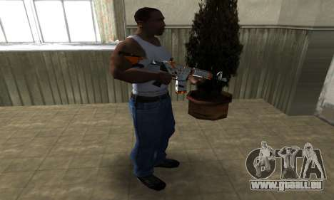 M4 Asiimov pour GTA San Andreas troisième écran