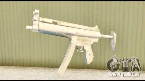 MP5 avec un stock pour GTA San Andreas