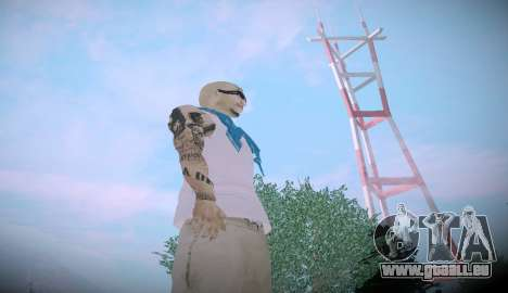 Asesinos Loco HQ Skin pour GTA San Andreas deuxième écran