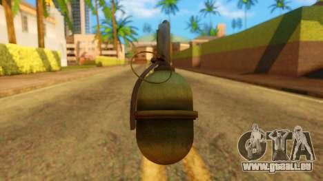 Atmosphere Grenade pour GTA San Andreas