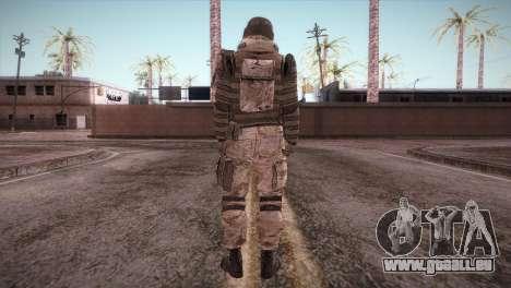 Armored Soldier pour GTA San Andreas troisième écran