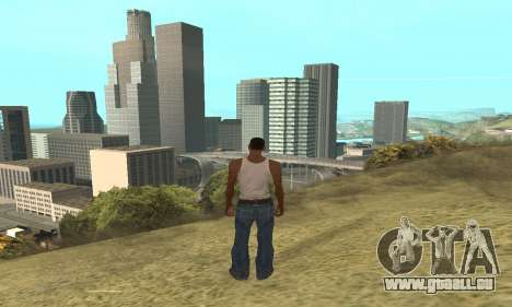 Augmenter l'amplitude de la vectorisation pour GTA San Andreas