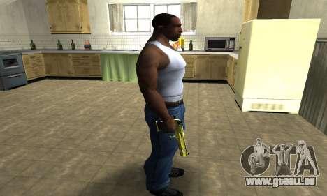 Sponge Bob Deagle pour GTA San Andreas troisième écran