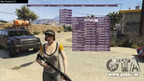 GTA 5 Skin Control 2.0 fünfter Screenshot