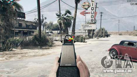 GTA 5 Combat HUD 1.0.2 zweite Screenshot