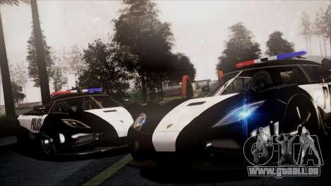 NFS Rivals Koenigsegg Agera R für GTA San Andreas