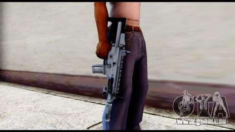 MK16 PDW Standart Quality v2 pour GTA San Andreas troisième écran