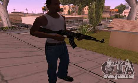 AK-47 Rebel für GTA San Andreas