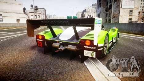Radical SR8 RX 2011 [23] für GTA 4 hinten links Ansicht
