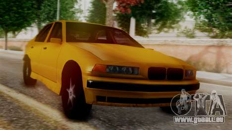 BMW M3 E36 SA Style pour GTA San Andreas