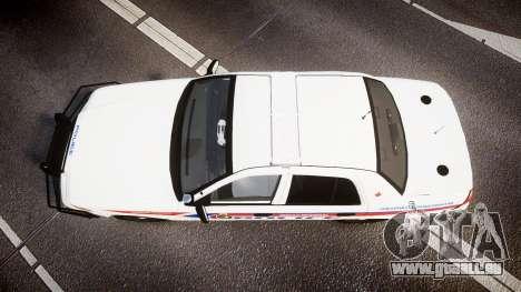 Ford Crown Victoria Bohan Police [ELS] WL für GTA 4 rechte Ansicht