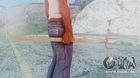 Red Dead Redemption Pitchfork für GTA San Andreas dritten Screenshot
