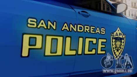 Hunter Citizen SAPD IVF für GTA San Andreas rechten Ansicht