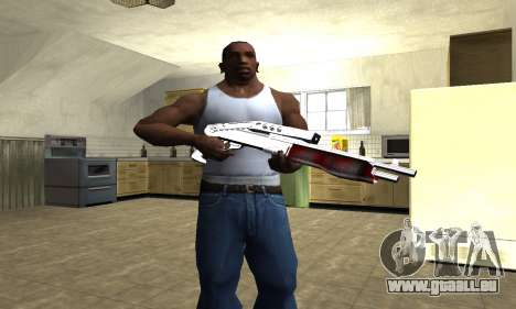 Blood Combat Shotgun für GTA San Andreas dritten Screenshot