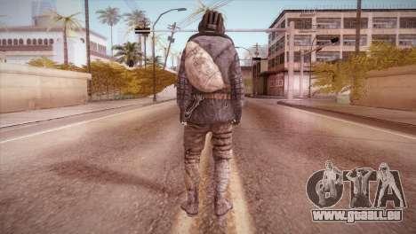Paul v1 pour GTA San Andreas troisième écran