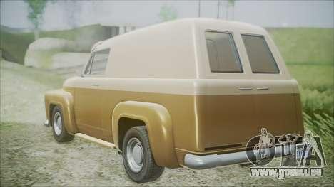 GTA 5 Vapid Slamvan für GTA San Andreas linke Ansicht