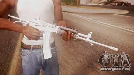 Galil AR v2 from Battlefield Hardline für GTA San Andreas dritten Screenshot