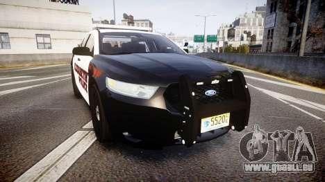 Ford Taurus 2010 Elizabeth Police [ELS] für GTA 4
