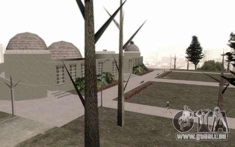 Les arbres sans feuilles pour GTA San Andreas troisième écran