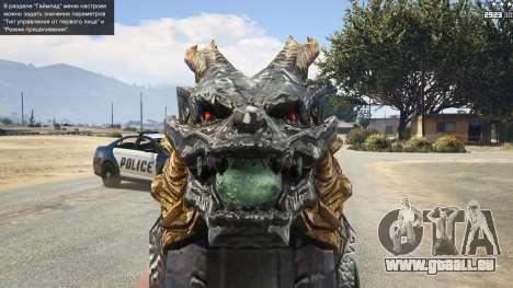 CFs Thompson Infernal Dragon pour GTA 5
