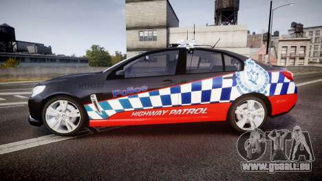 Holden VF Commodore SS Highway Patrol [ELS] pour GTA 4 est une gauche
