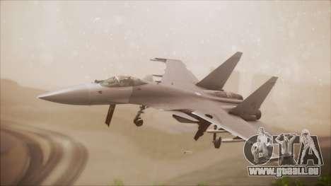 SU-35 Flanker-E Ofnir Ace Combat 5 für GTA San Andreas