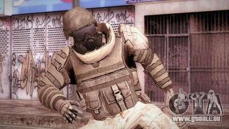 Armored Soldier für GTA San Andreas