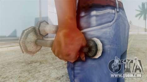 Red Dead Redemption Cell Phone pour GTA San Andreas troisième écran