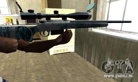 Mini Water Time Sniper Rifle pour GTA San Andreas deuxième écran