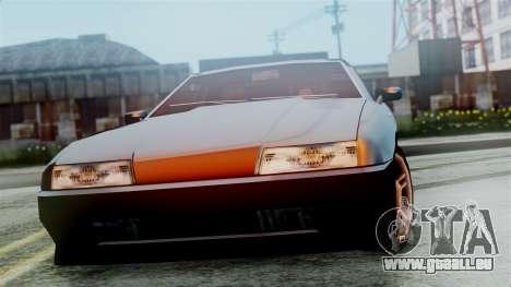 Elegy New Edition pour GTA San Andreas vue de droite